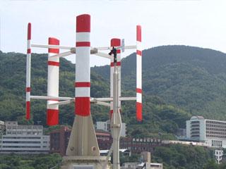 1.5kW直線翼垂直軸型風車