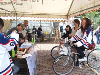 自転車人力発電2