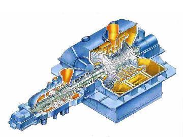 蒸気タービン(三菱重工業提供)