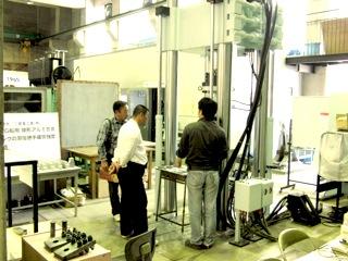 次世代航空機構造材CFRPの強度実験