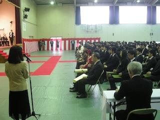 卒業式の様子3