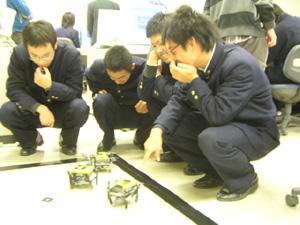 6足昆虫ロボット動作テスト