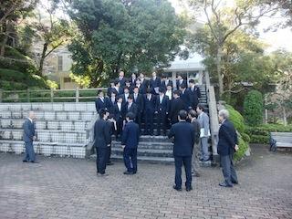アルバム記念撮影