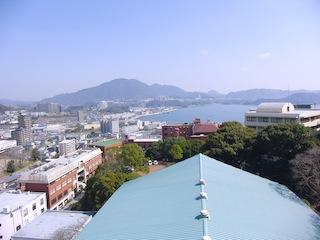 1号館からの眺め